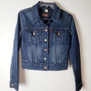 NEW Levi's Dark Wash Jean Jacket Size S